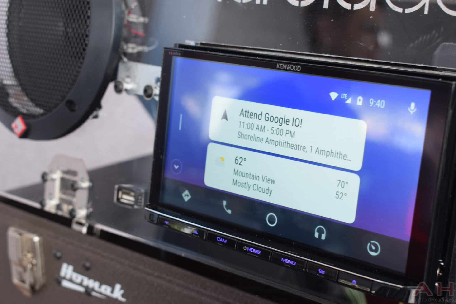 hands on with google 39 s wireless android auto head units. Black Bedroom Furniture Sets. Home Design Ideas
