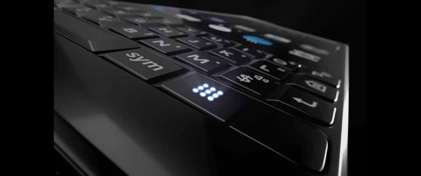 BlackBerry KEY2 Teaser