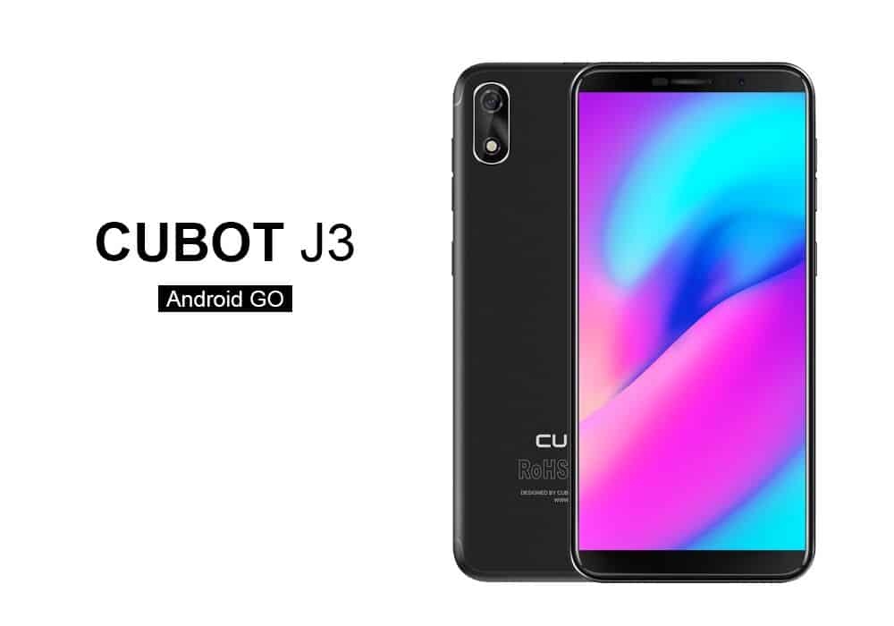 Cubot J3 Android Go smartphone 1