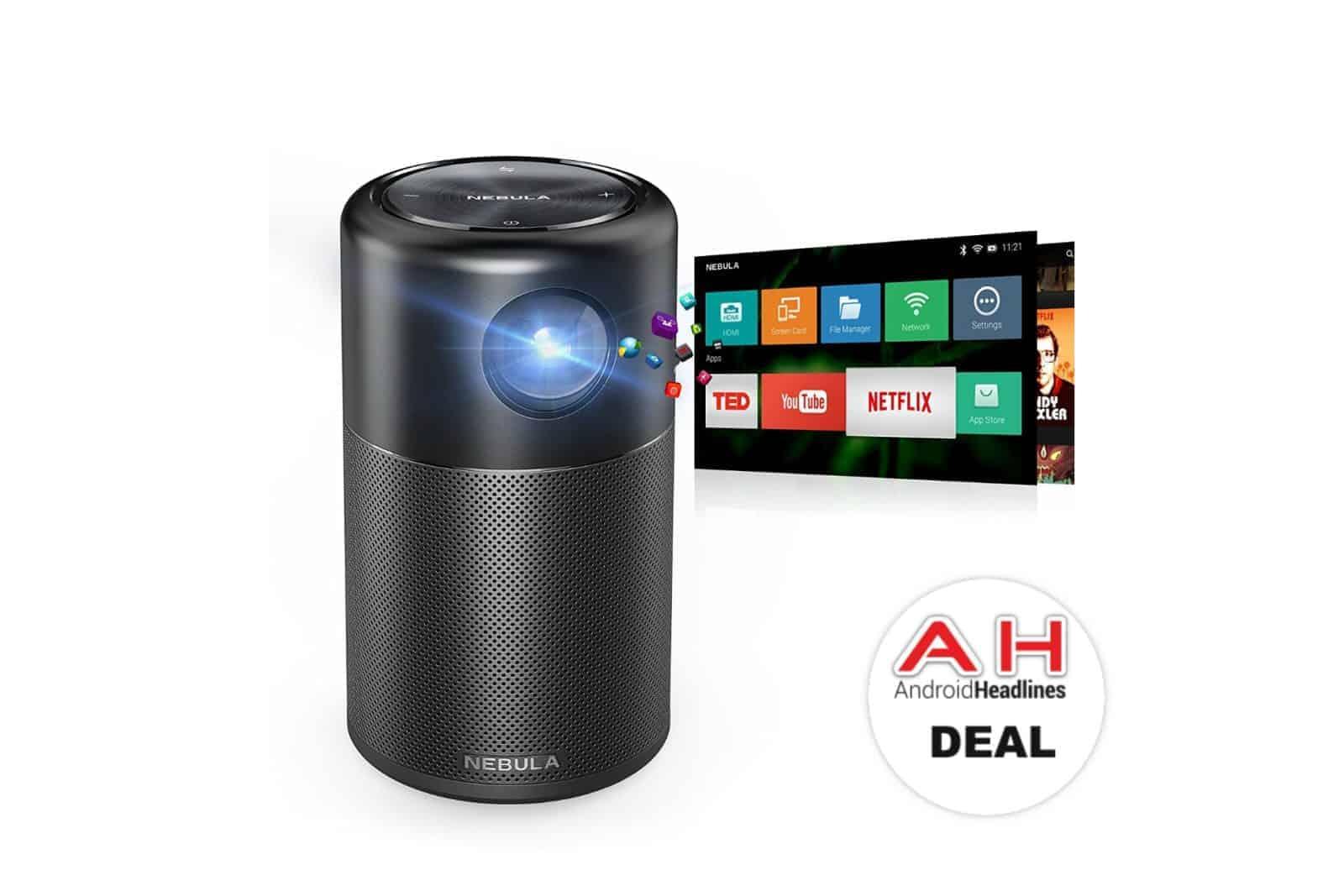 Deal nebula capsule smart mini projector for 248 today for Compare mini projectors
