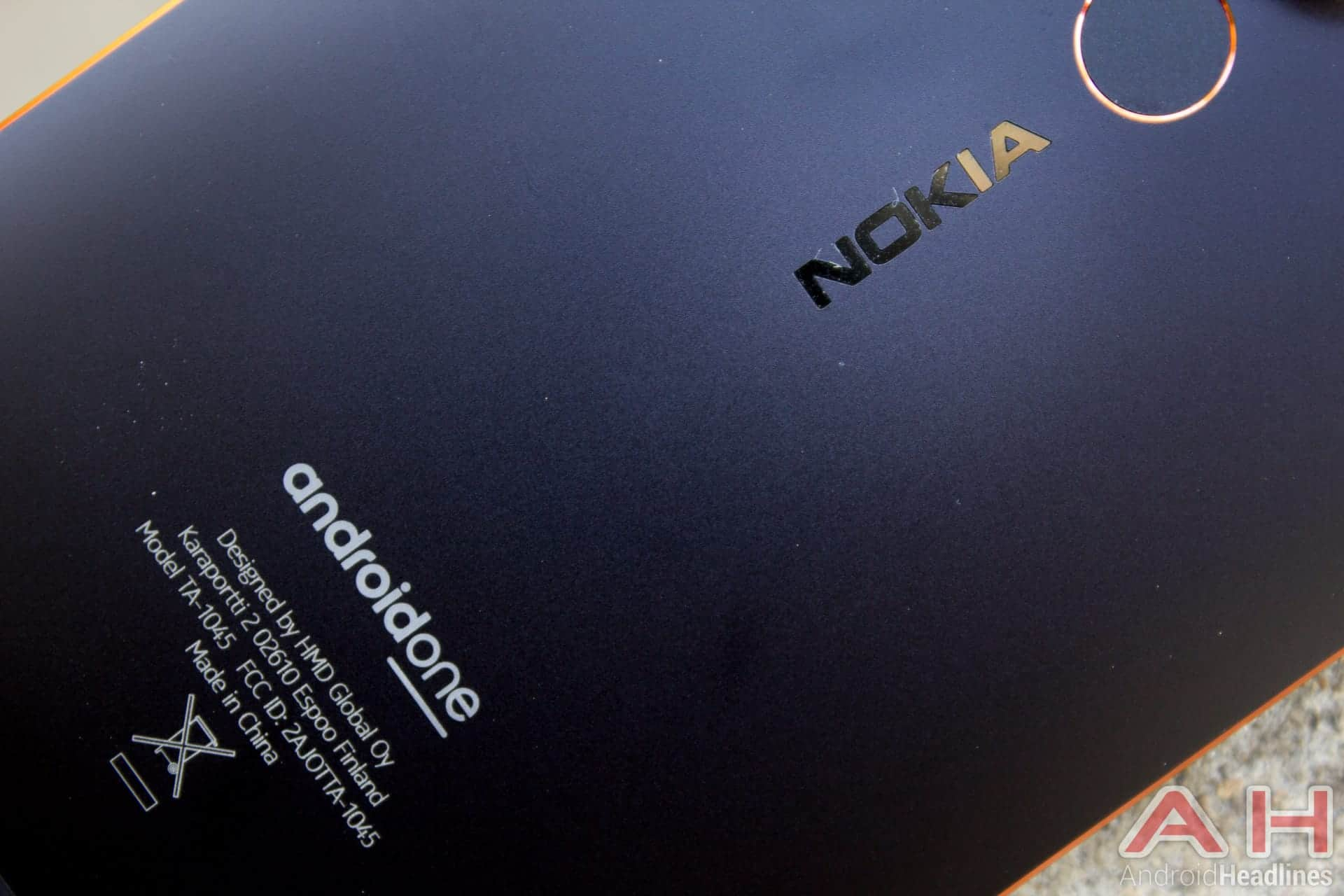 Nokia 6.1 AH NS 08 android one
