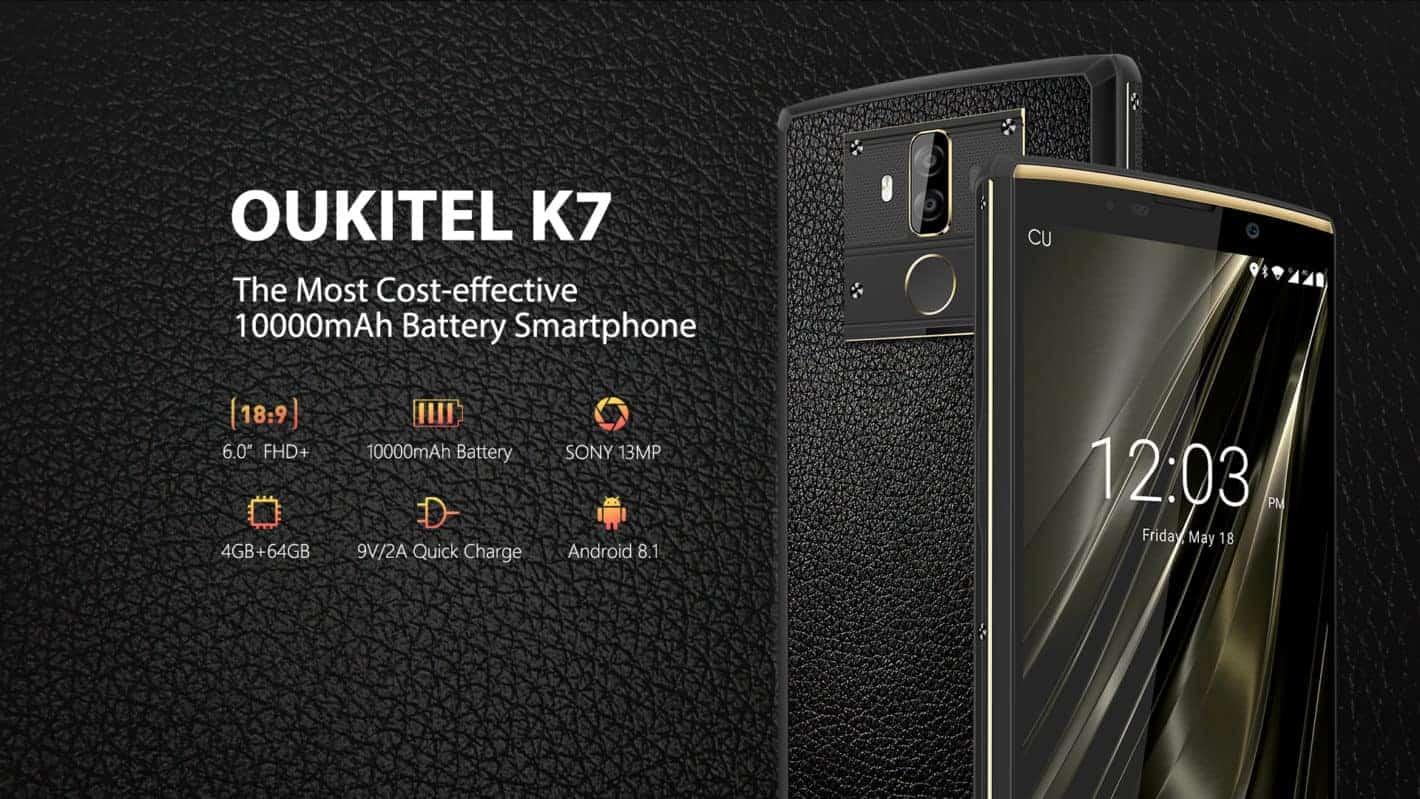 Резултат с изображение за oukitel k7 banner