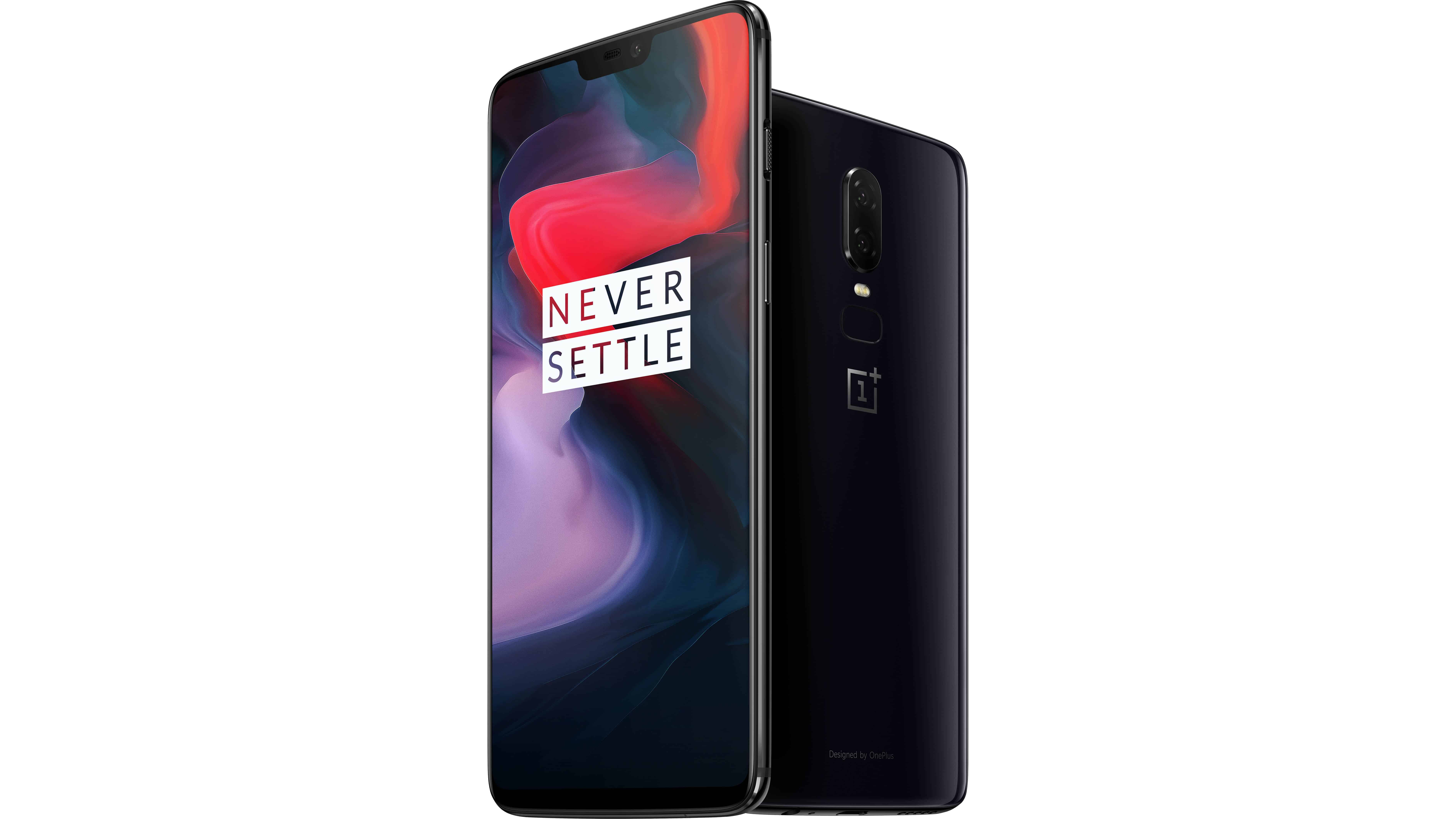 OnePlus 6 Mirror Black Official 12