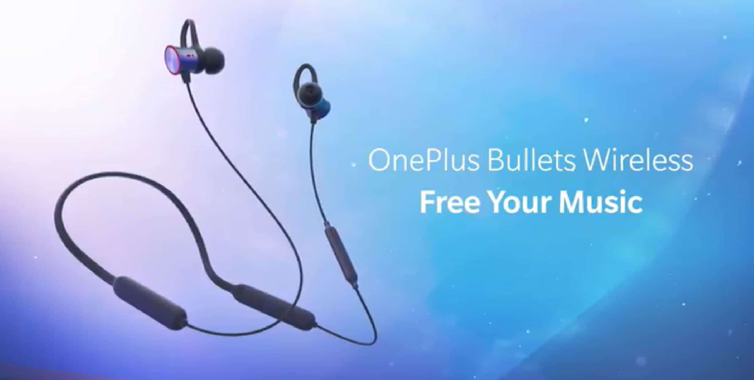 OnePlus Bullets Wireless Earbuds Have Magnetic Resume | Android News