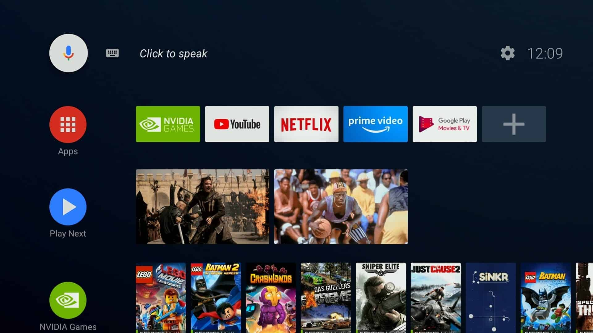 SHIELD TV's 20th Software Upgrade Adds New App, Brings Back NVIDIA Share