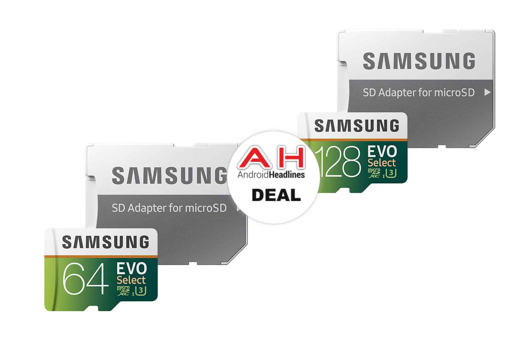 Samsung EVO Select Micro SD Cards Discounted Up To 40% At Amazon – October 2018