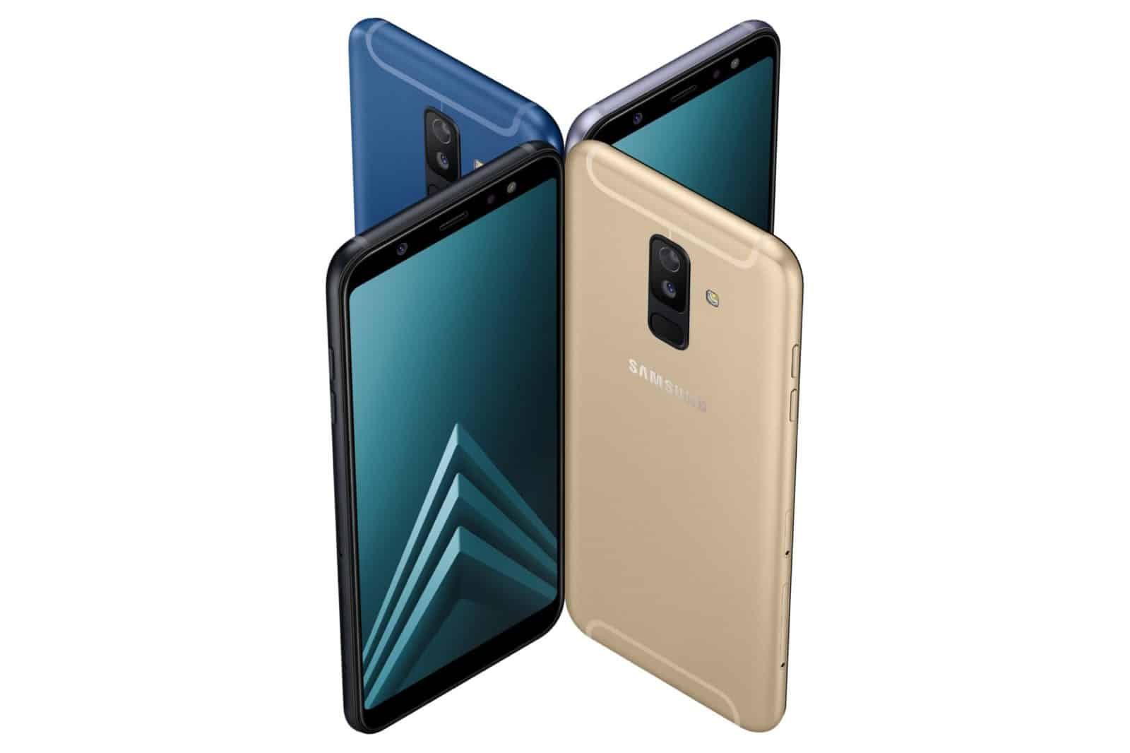 Camera Focused Galaxy A6 Amp A6 Plus Officially Announced