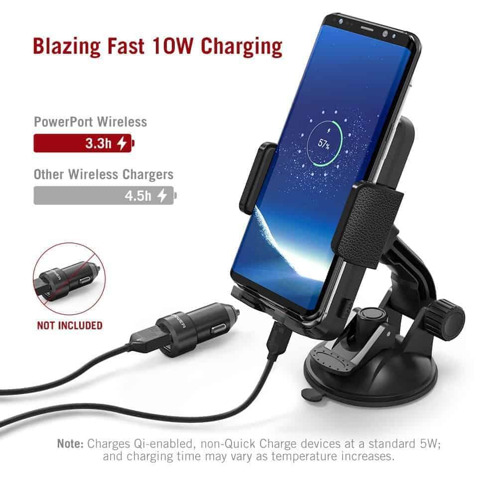 TaoTronics Qi charging smartphone holder 3