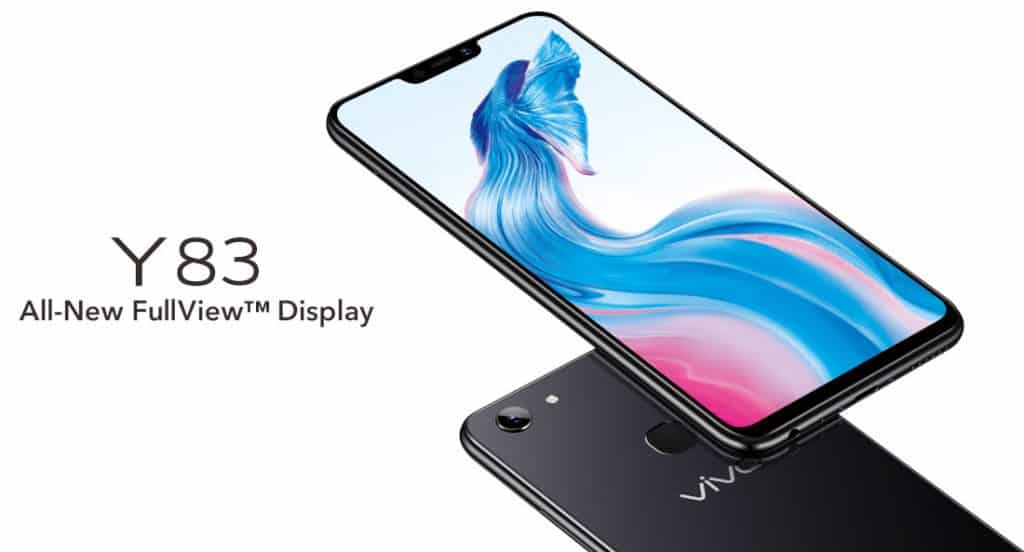 Vivo Y83 Mid Ranger With A Display Notch Lands In India
