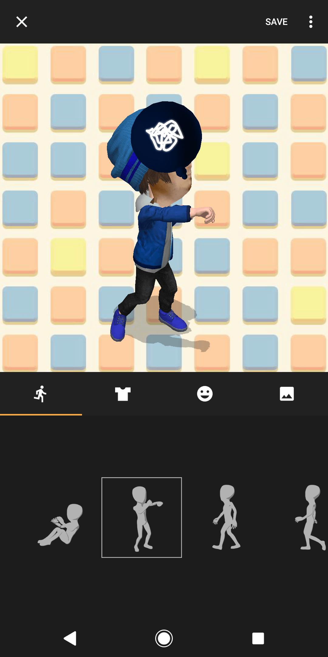 Xperia XZ2 AH NS Screenshots AR emojis 01
