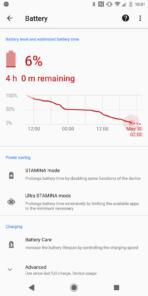 Xperia XZ2 AH NS Screenshots battery best 1