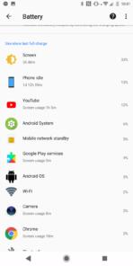 Xperia XZ2 AH NS Screenshots battery best 2