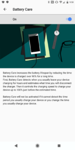 Xperia XZ2 AH NS Screenshots battery care