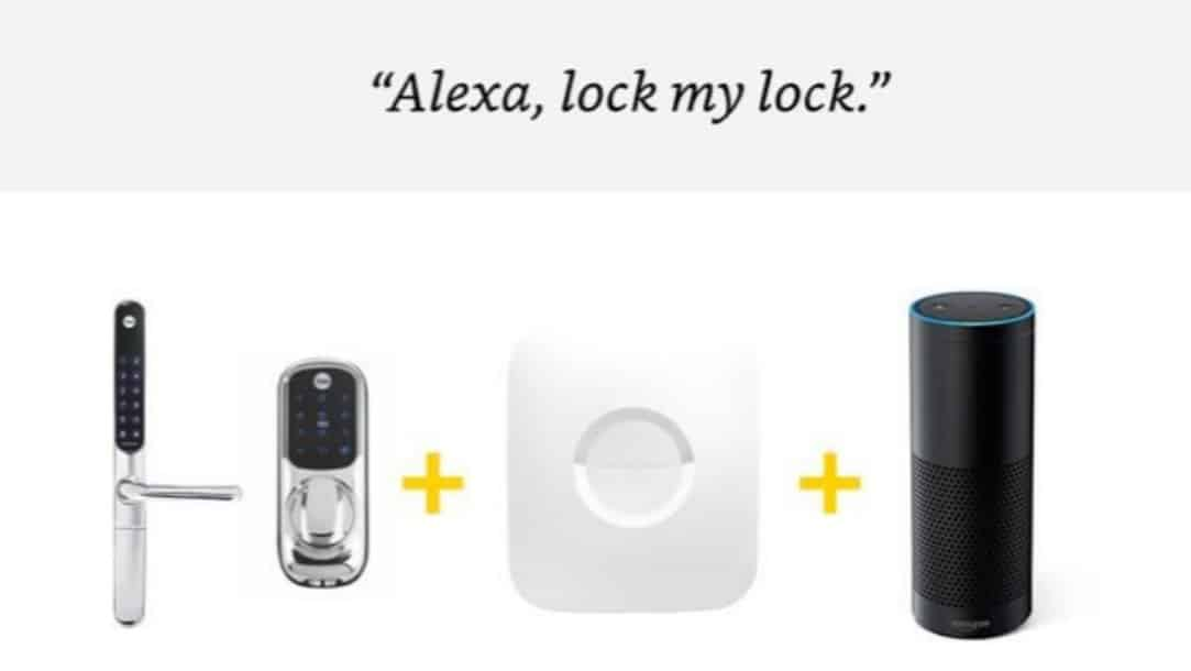 Yale Keyfree Alexa Support Announcement Press Image