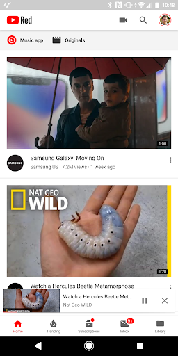 Google Rolling Out New YouTube Multi-Tasking Interface