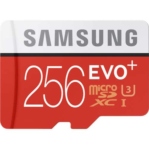 Samsung 256GB EVO+ microSDXC Memory Card - (B&H Photo)