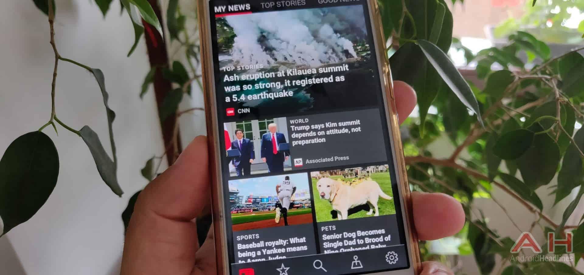 AH Microsoft News app 1