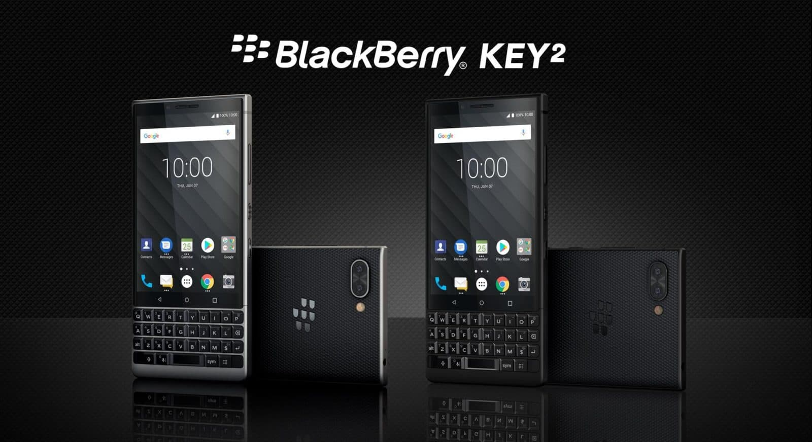 Blackberry Key2 With Dual Rear Cameras Amp Keyboard