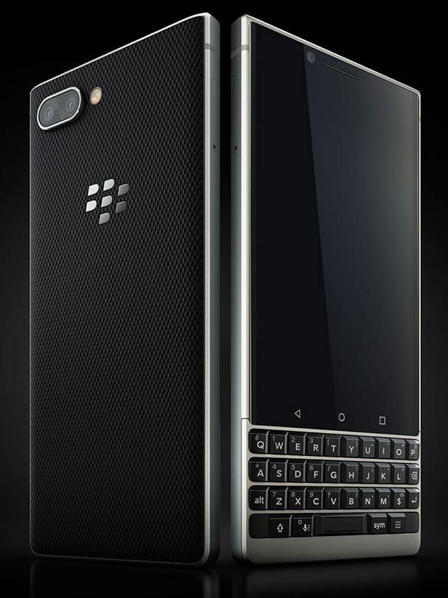 BlackBerry KEY2 Renders 2