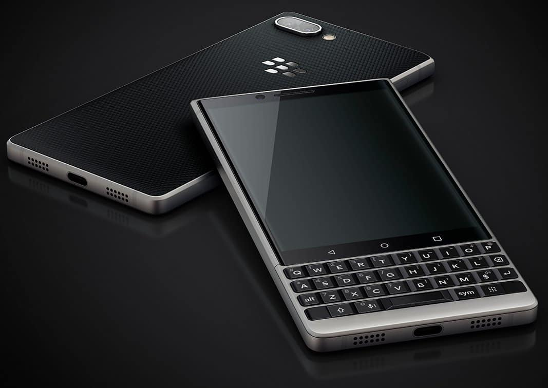 BlackBerry KEY2 Renders 3