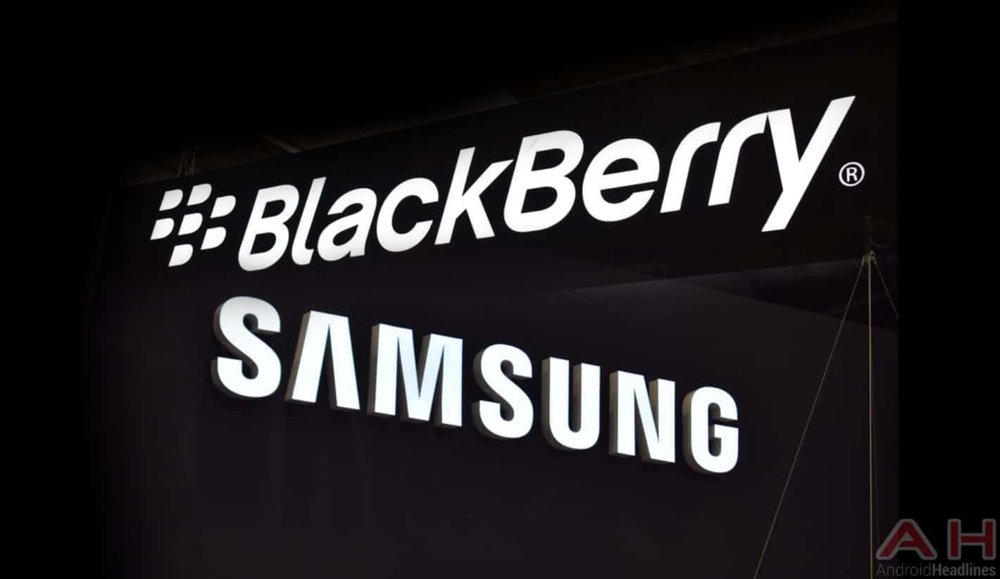BlackBerry Samsung Logos June 2018 AH