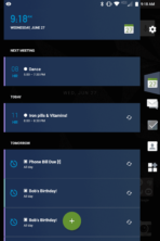 Blackberry KEY2 AH NS Screenshots hub