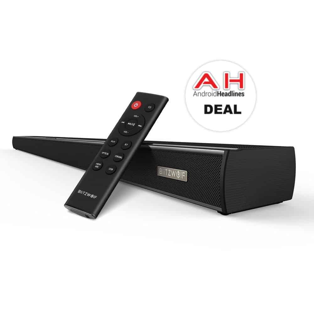 Deal Blitzwolf S 36 Inch 60w Soundbar For 70 30 Off