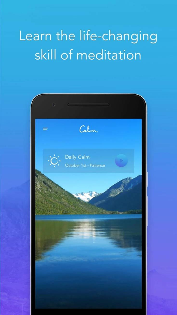 Calm Meditate Sleep Relax gplay scrnsht 08