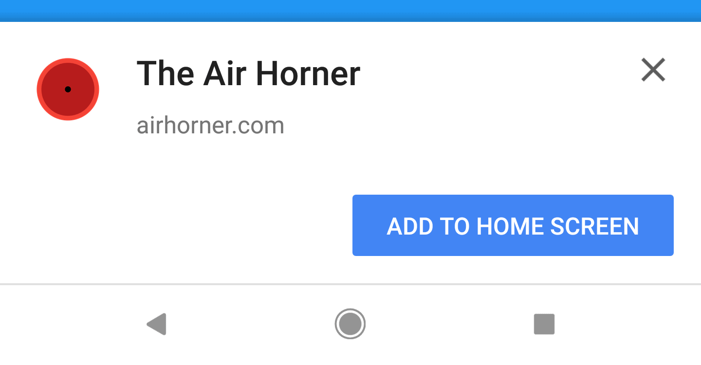 "Google To Minimize The ""Add To Homescreen"" Chrome Banner ..."