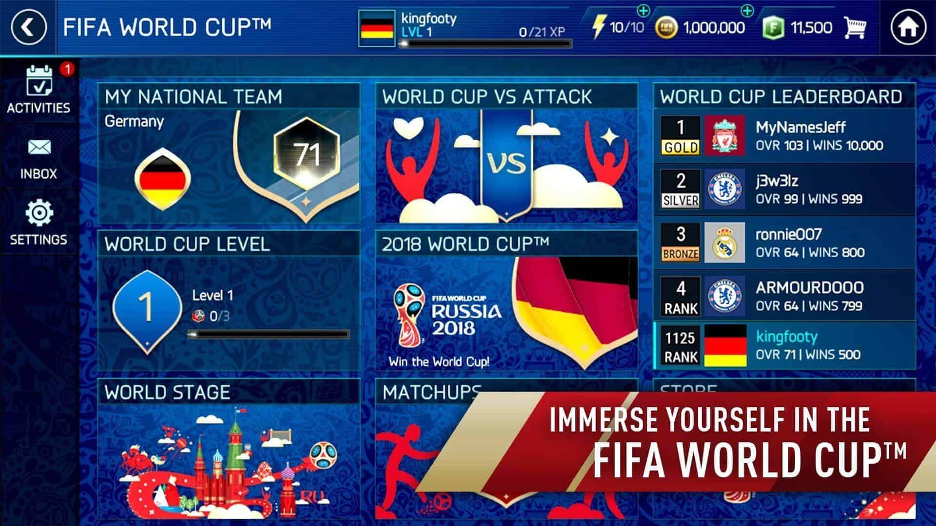 FIFA Soccer FIFA World Cup Gplay Scrnsht 01