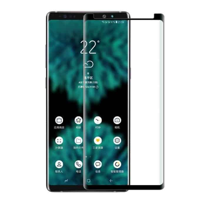 Galaxy Note 9 front panel leak 2