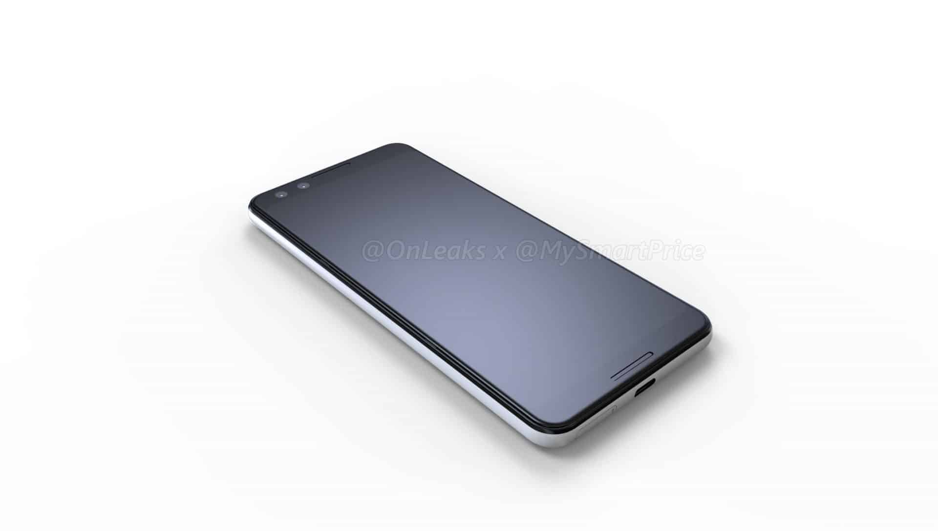 Google's Pixel 3 and 3XL Renders Leak