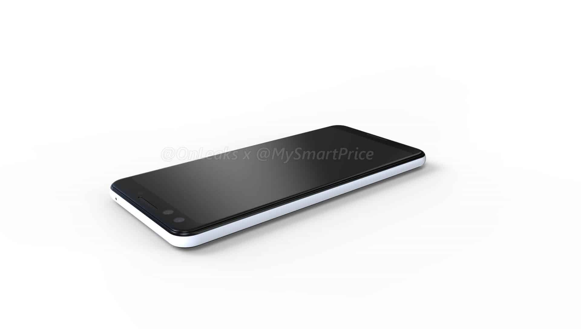 Google Pixel 3 and Pixel 3 XL renders surface