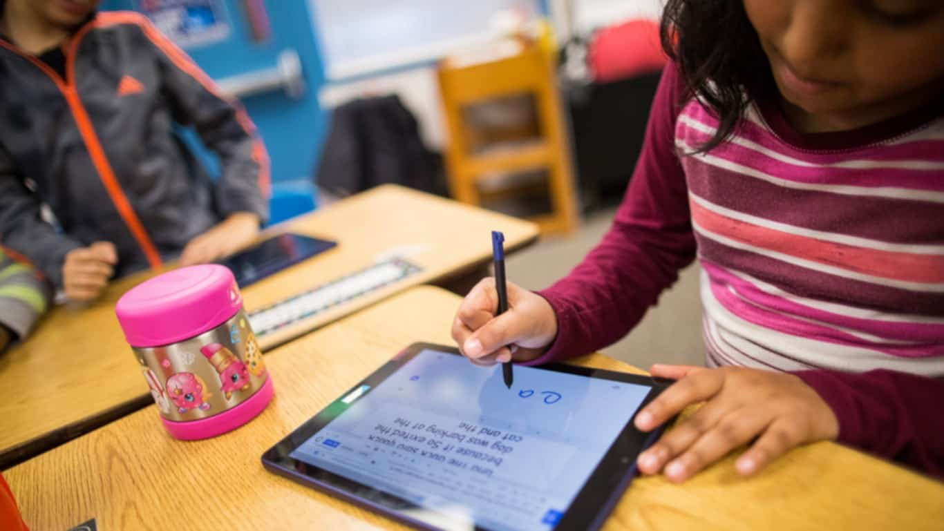 Google for Education press image from Google Announcement