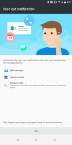 HTC U12 Plus AH NS Screenshots usonic notifs