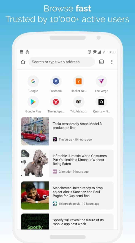 Kiwi Browser 1