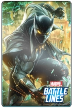 MARVEL BATTLE LINES PRCards BlackPanther