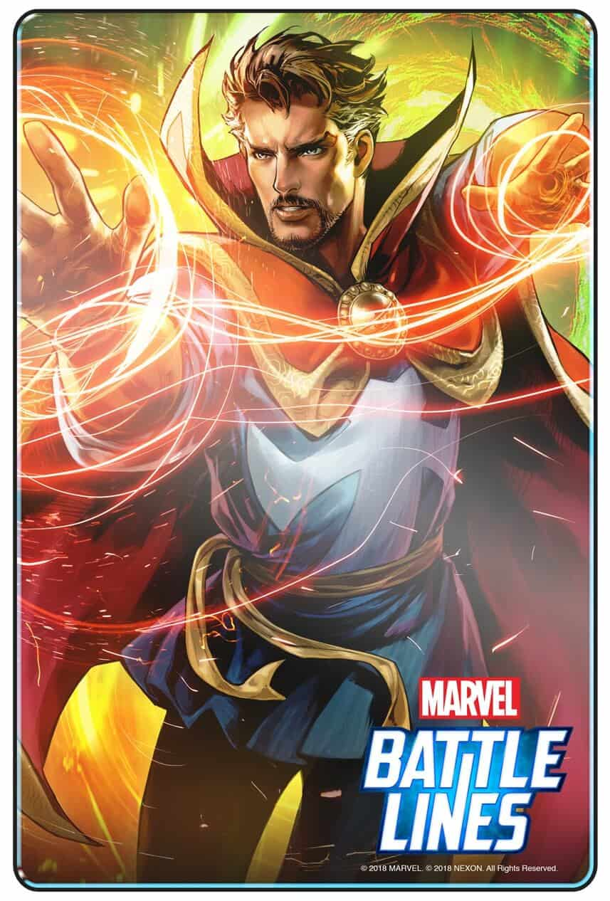 MARVEL BATTLE LINES PRCards DoctorStrange