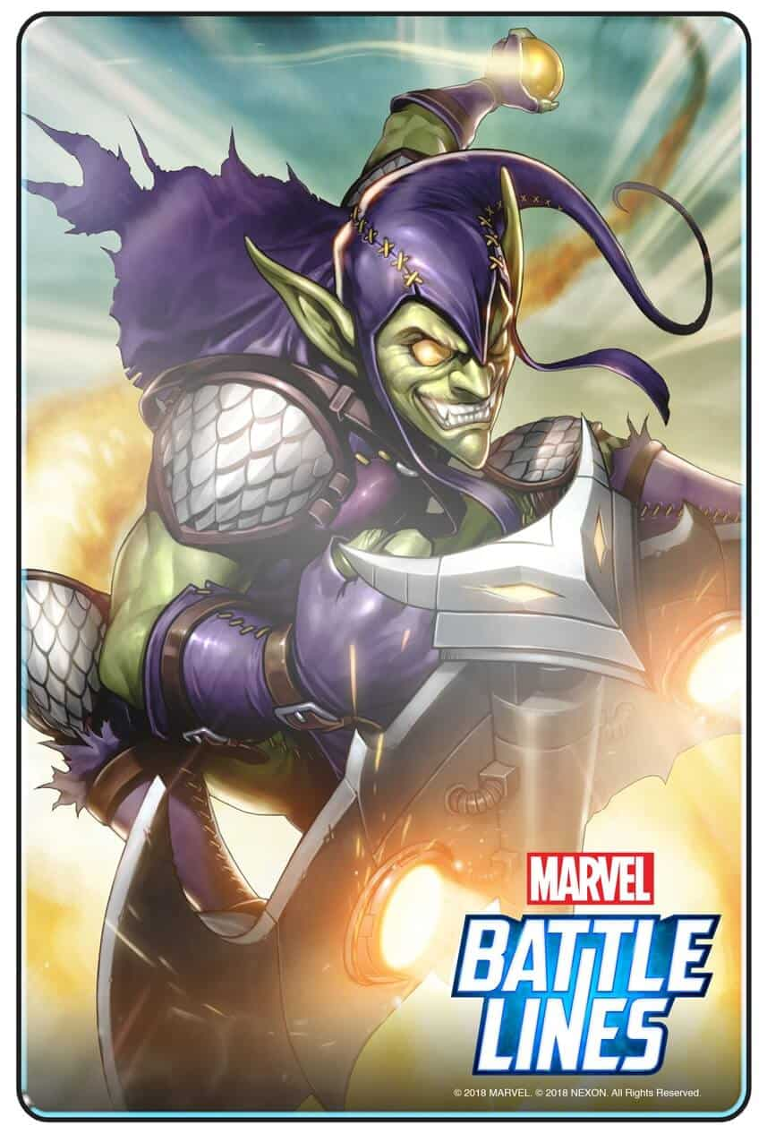 MARVEL BATTLE LINES PRCards GreenGoblin