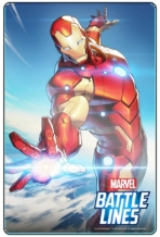 MARVEL BATTLE LINES PRCards IronMan