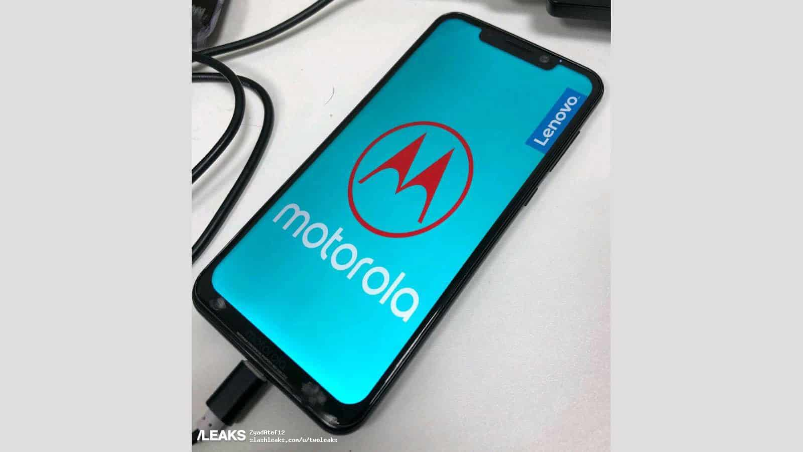 Alleged Motorola One Power Prototype Leaks With Screen