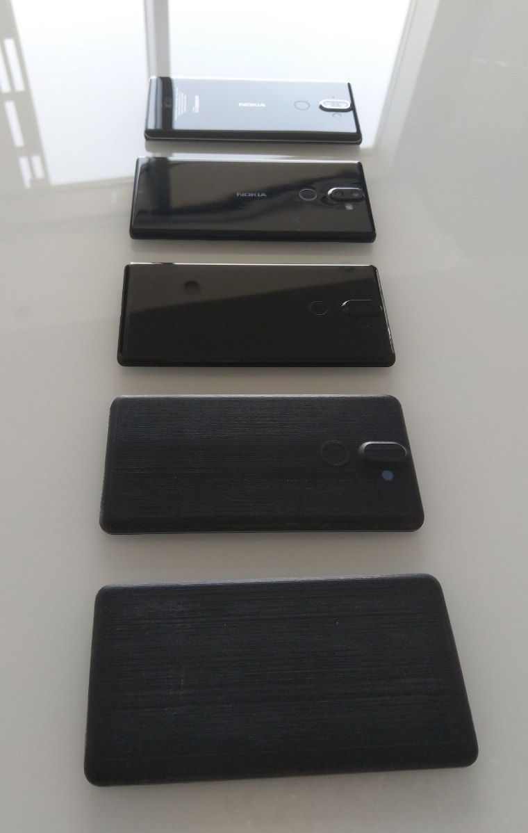 Nokia 8 Sirocco Prototypes official 01