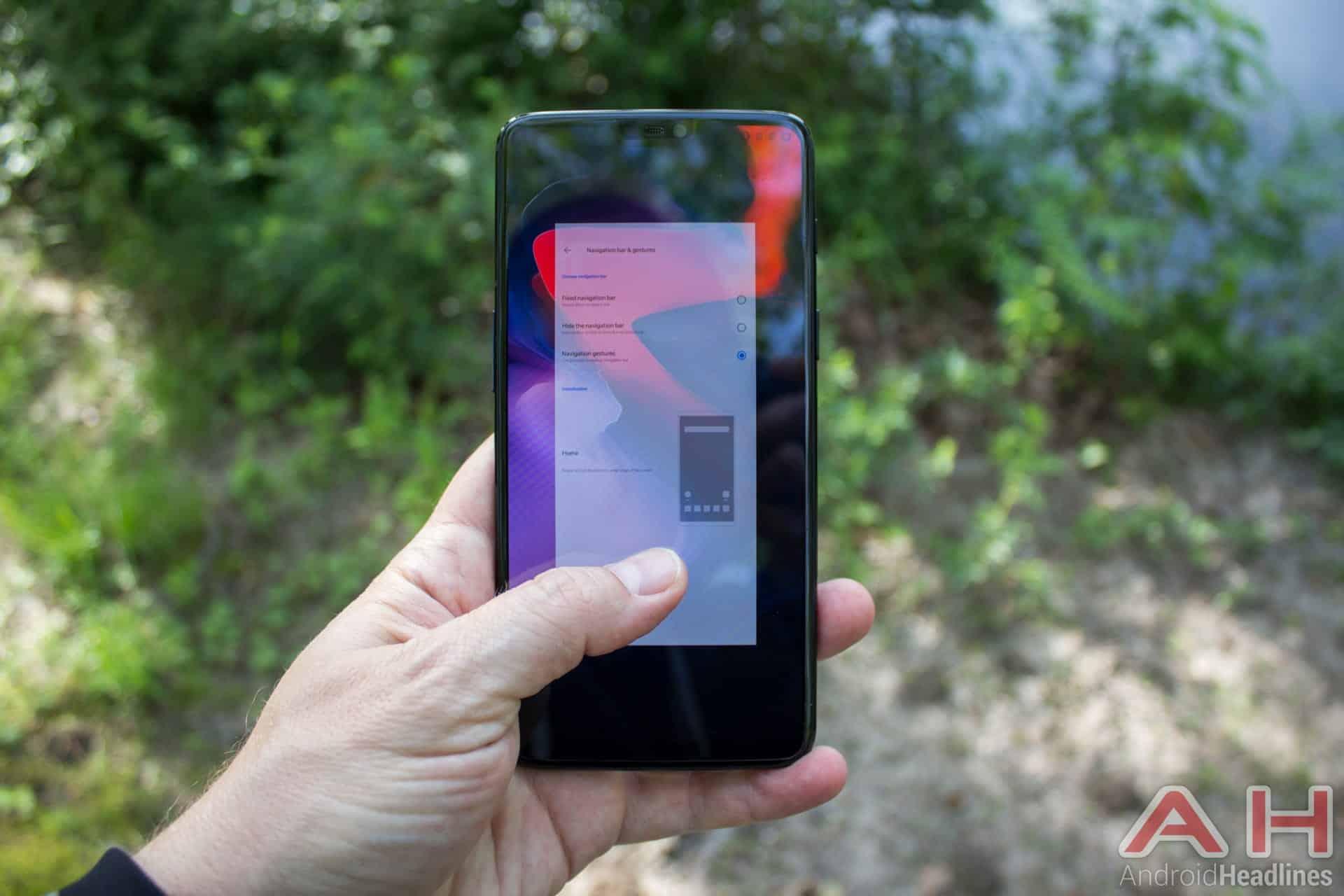OnePlus 6 AH NS 63 gestures