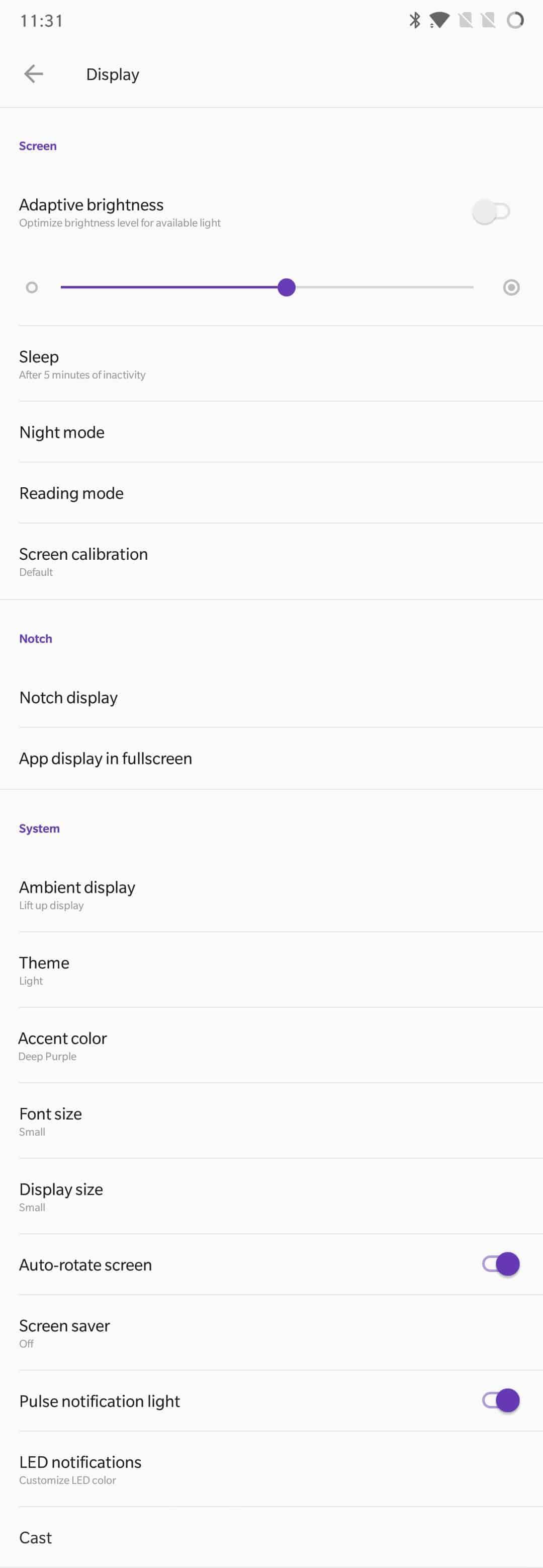 OnePlus 6 AH NS Screenshots display 1