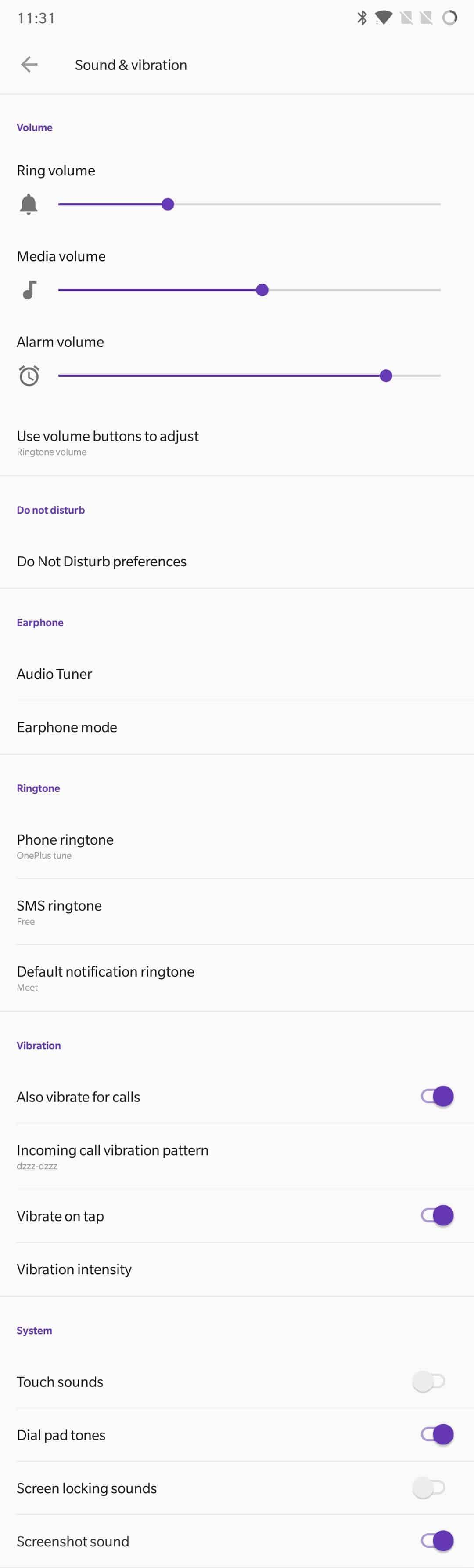 OnePlus 6 AH NS Screenshots sound 1
