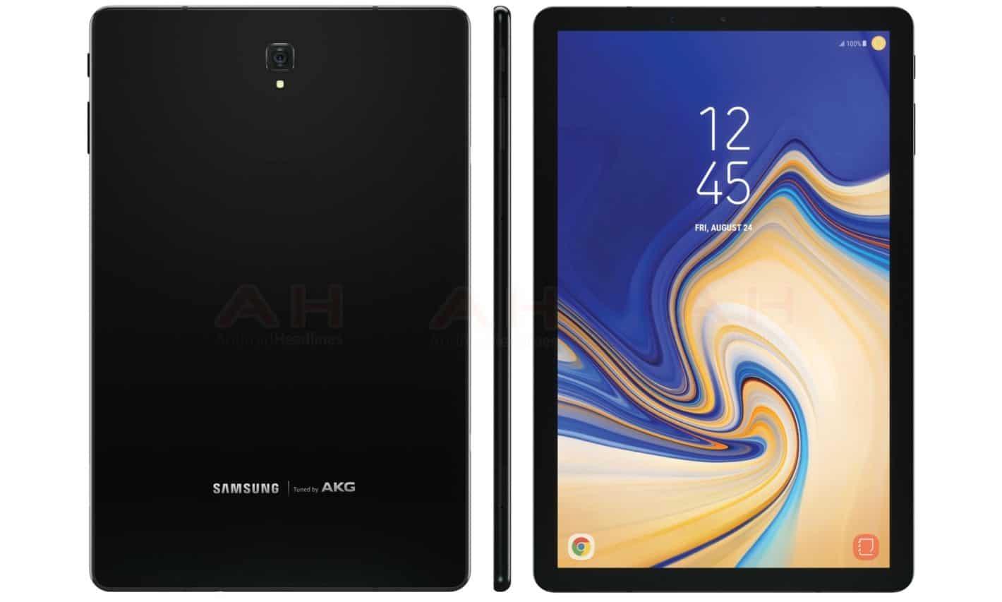 Surgem imagens do Galaxy Tab S4, suposto novo tablet da ...