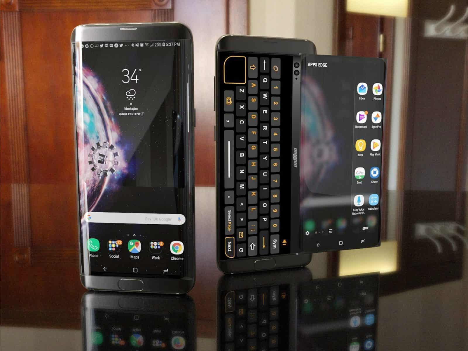 samsung oxygen samsung oxygen concept features a slide out display android news