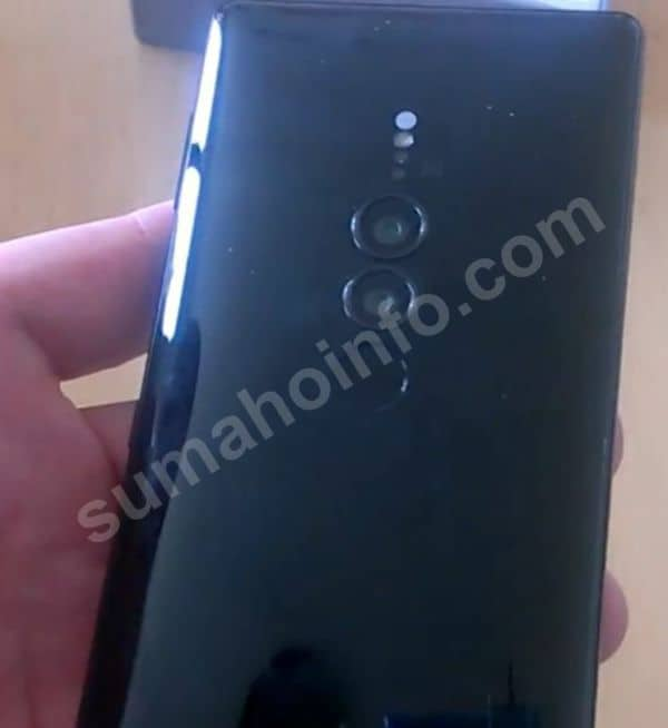 Sony Xperia XZ3 real life image leak 3
