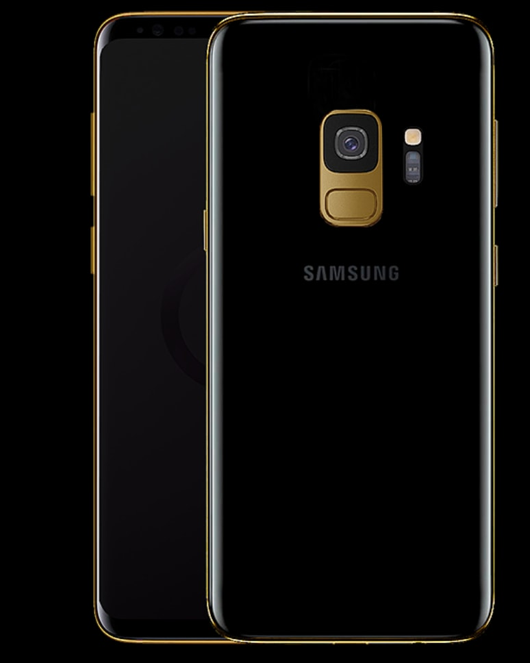 Truly Exquisite Samsung S9 Series Gold Cases 01