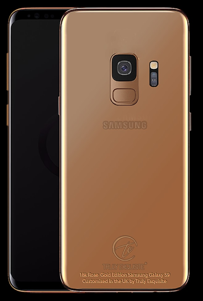 Truly Exquisite Samsung S9 Series Gold Cases 06